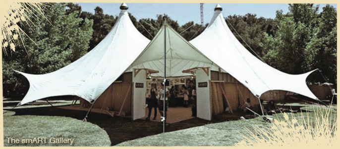 The SMART Gallery Tent